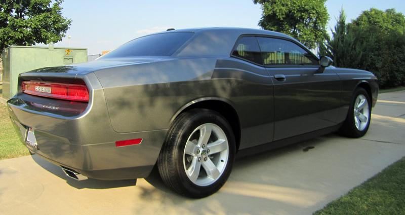 Dodge Challenger Image Dodge Challenger Matte Black Spoiler